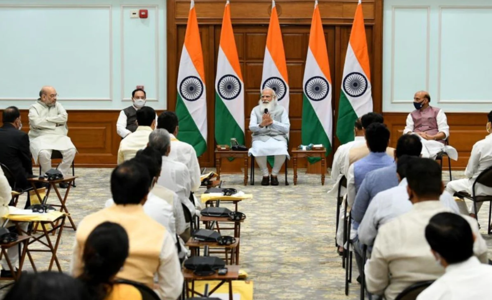 No place for complacency in fight against COVID, PM Modi tells new ministers