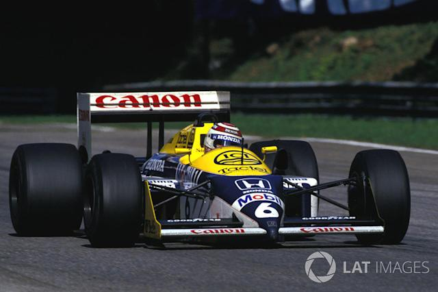 "Williams FW11B <span class=""copyright"">Sutton Motorsport Images</span>"