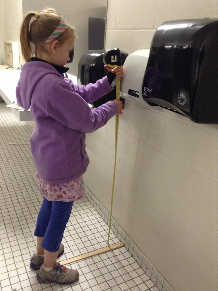 Nora Keegan had a question: do hand dryers hurt children's hears? She decided to investigate, and ended up getting her study published.