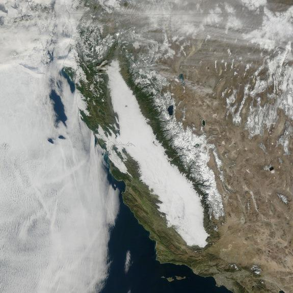 California Tule Fog Becoming Increasingly Rare (Photo)