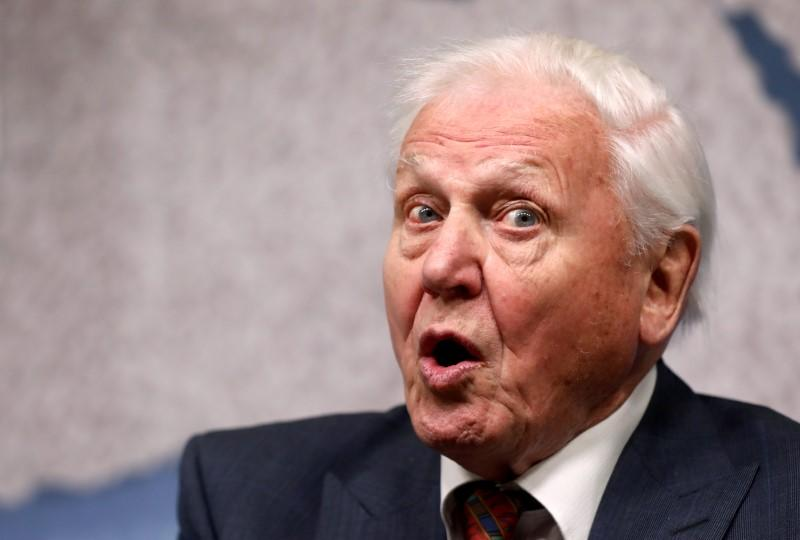 Attenborough says 'moment of crisis' has come on climate