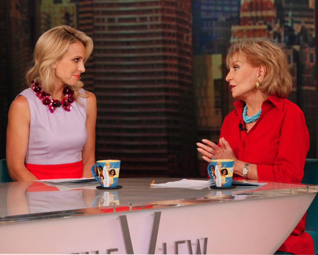 "After ten years as co-host, Elisabeth Hasselbeck announced today, July 10, 2013, that she will be leaving ""The View."""