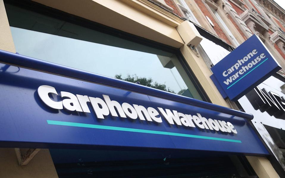 Dixons Carphone has been fined £500,000 by the ICO - PA