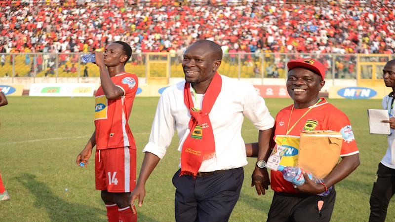 Kotoko boss Akonnor wants fans off the back of his players after Nkana triumph in Confederation Cup