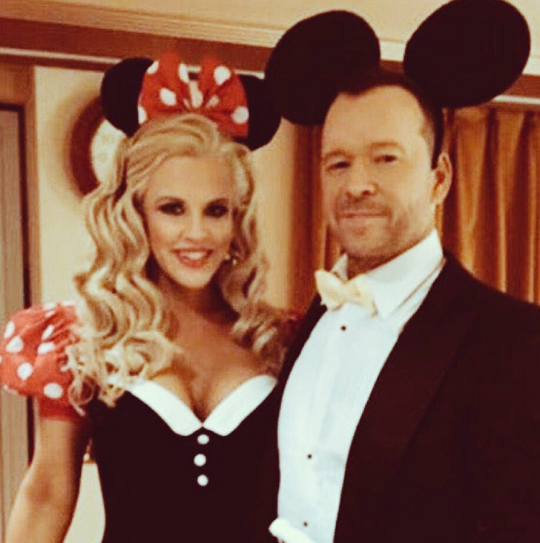 """<p>""""Mrs. Wahlberg, It's your birthday, but I feel like I'm the one receiving the gift,"""" Jenny McCarthy's devoted hubby captioned this magical photo of them as Mickey and Minnie. """"Another year with you — my soulmate."""" These two… (Photo: <a href=""""https://www.instagram.com/p/Ba8H_WBnSiI/?taken-by=donniewahlberg"""" rel=""""nofollow noopener"""" target=""""_blank"""" data-ylk=""""slk:Donnie Wahlberg via Instagram"""" class=""""link rapid-noclick-resp"""">Donnie Wahlberg via Instagram</a>) </p>"""