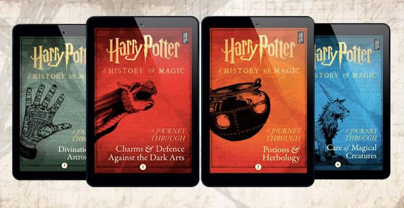 New Harry Potter E Books Will Teach Magic To Muggles