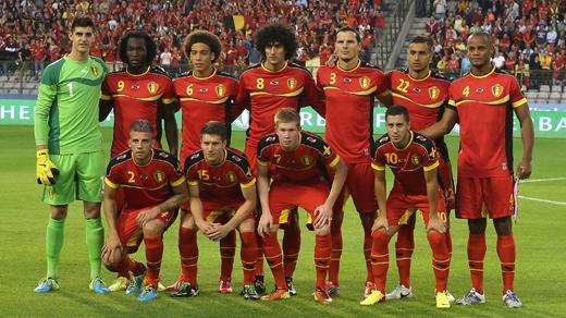Belgium at the top while Brazil remains second in FIFA rankings