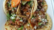"""<p>People will often comment that they traveled from a couple of towns over just to visit this delicious food truck in Oklahoma City. Guess word travels fast when it comes to good tacos.</p><p><em>Check out <a href=""""https://www.facebook.com/pages/Taqueria-Sanchez/300268419996951"""" rel=""""nofollow noopener"""" target=""""_blank"""" data-ylk=""""slk:Taqueria Sanchez on Facebook"""" class=""""link rapid-noclick-resp"""">Taqueria Sanchez on Facebook</a>.</em></p>"""