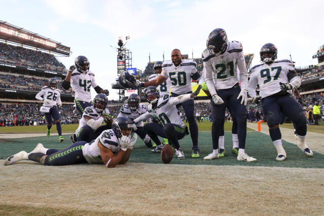 Seattle's defense hasn't exactly been picturesque this season. (Photo by Mitchell Leff/Getty Images)