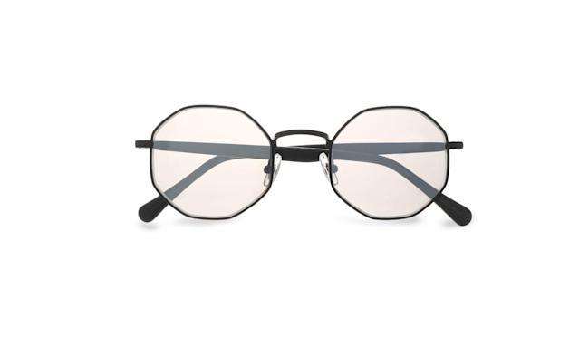 "<p>Fabio hexagon-frame metal and acetate mirrored sunglasses, $144,<a href=""https://www.theoutnet.com/en-us/shop/product/round-frame_cod1874378722792882.html#dept=AM_Sunglasses_ACCESSORIES"" rel=""nofollow noopener"" target=""_blank"" data-ylk=""slk:theoutnet.com"" class=""link rapid-noclick-resp""> theoutnet.com</a> </p>"