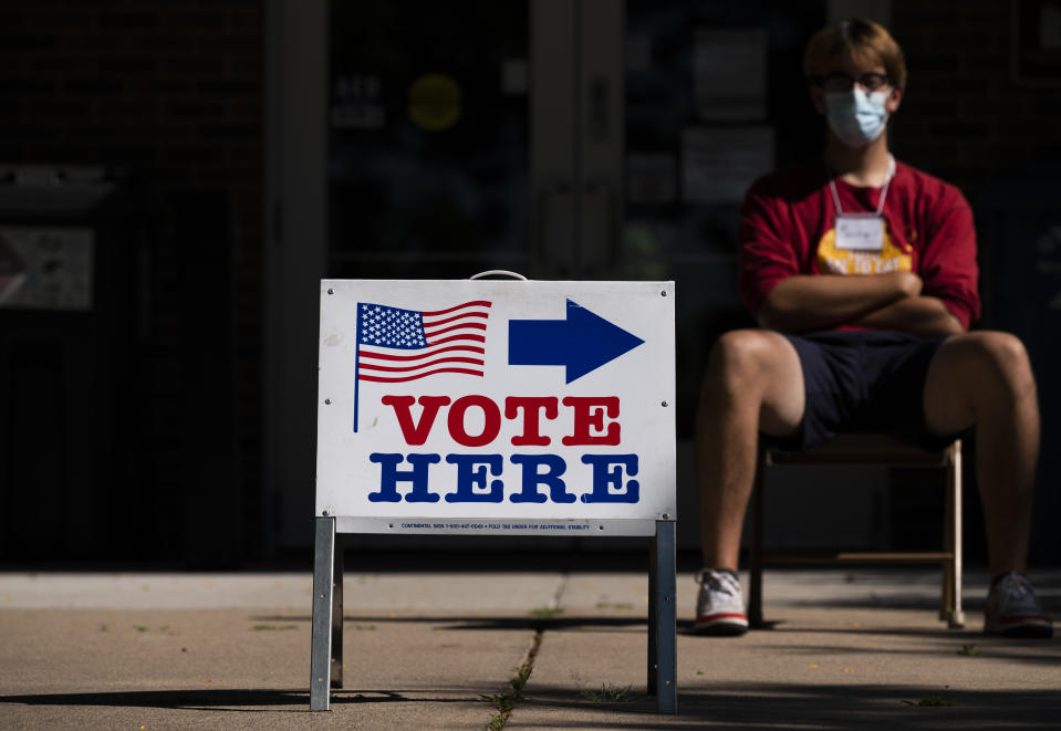 More Than a Vote and Live Nation are partnering to turn concert venues across the country into socially distanced polling places for election day. (Photo by Stephen Maturen/Getty Images)