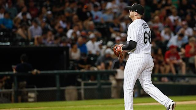 <p>Earlier this season, it was reasonable to ask if Dylan Covey was a part of the White Sox long-term plans as he pitched well. But the results haven't been good lately, again throwing his status into question.</p>