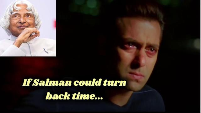If Salman could turn back time