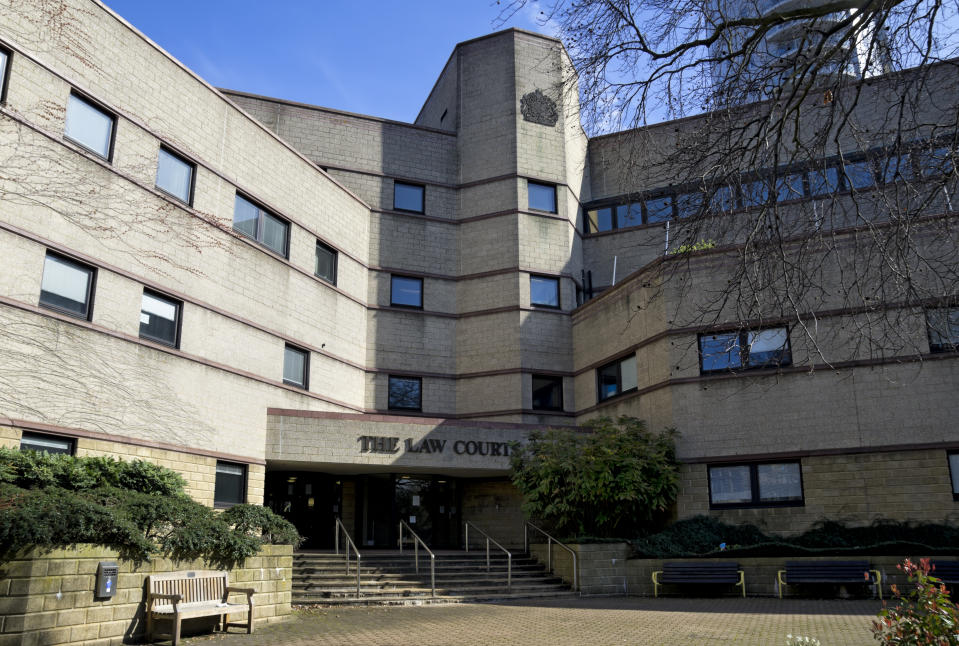 """""""Croydon, Surrey, England - March 25, 2012: The Law Courts in Croydon, Surrey. The courts complex comprises the Magistrates' Court, Coroner's Court, Youth Court, Family Court, County Court and Crown Court."""""""