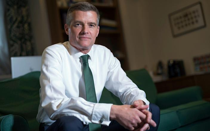 Mark Harper MP in conversation with the Telegraph - David Rose