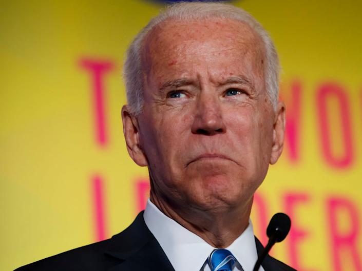 Joe Biden made the comments in 1998 about Bill Clinton's impeachment: AP