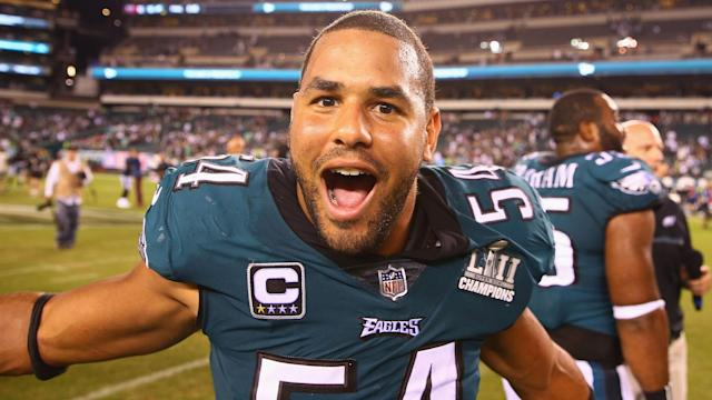 Philadelphia Eagles outside linebacker Kamu Grugier-Hill stoked the fire heading into Sunday's clash with the Dallas Cowboys.