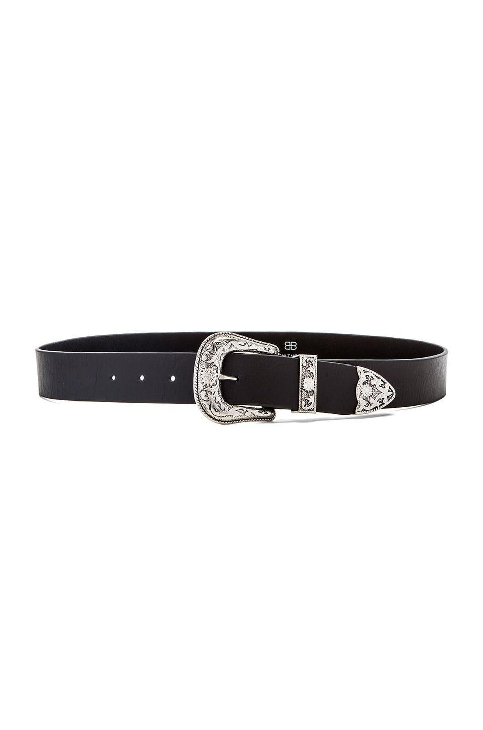 <p>This <span>B-Low the Belt Frank Hip Belt</span> ($132) is the only one they'll need; it goes with every outfit.</p>