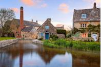 """<p>These twinned villages, linked by a dainty river, derive their names from 'wet' or 'mud' but, despite this, provide for the most eye-wateringly beautiful streets. Lower Slaughter is home to the most romantic street in Britain, Copse Road, according to a Google street view poll. </p><p><strong>READ MORE: </strong><a href=""""http://www.countryliving.co.uk/homes-interiors/interiors/how-to/a576/how-to-give-your-home-cotswold-makeover/"""" rel=""""nofollow noopener"""" target=""""_blank"""" data-ylk=""""slk:6 ways to give your home a Cotswold makeover"""" class=""""link rapid-noclick-resp"""">6 ways to give your home a Cotswold makeover</a></p>"""