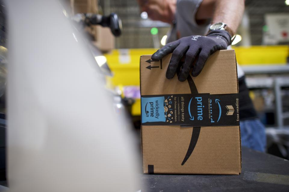The gift of Amazon Prime means not only speedy shipping, but also access to amazing streaming entertainment.(Photo: Getty)