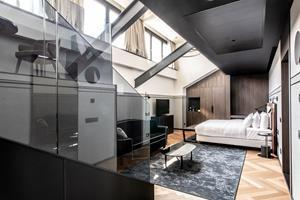 Radisson Collection Hotel, Palazzo Touring Club Milan guest room design