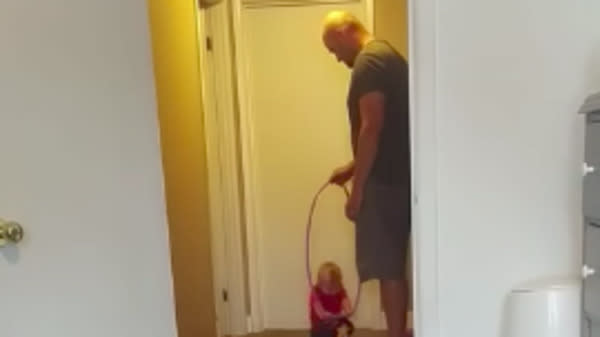 Dad Shares Clever Hack For Helping Babies Learn To Walk