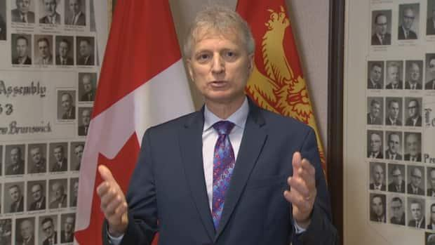 Liberal Leader Roger Melanson said every policy put in place by Public Health is attempting to minimize risk, but they're 'never bulletproof.'