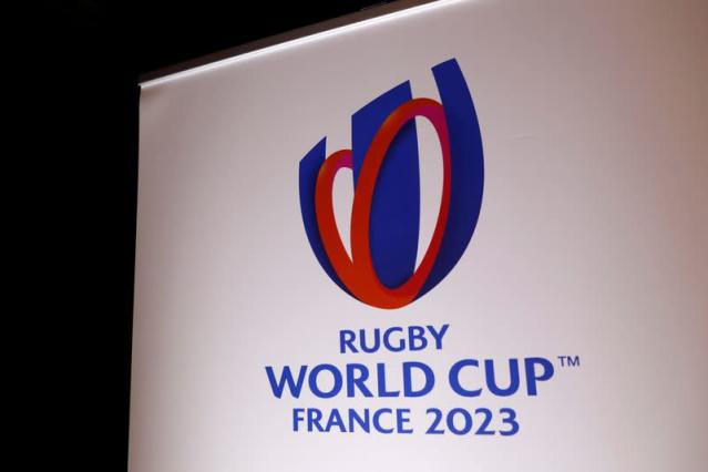 FILE PHOTO: News conference on the 2023 Rugby World Cup hosted by France