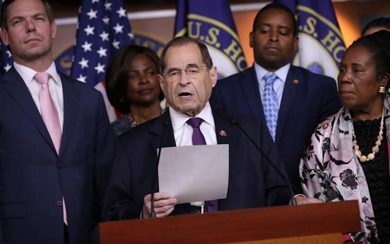 Rep. Jerrold Nadler made the comments about Donald Trump - Getty Images North America