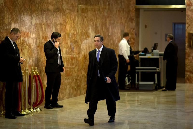 Searched and Seized: F B I  Agents Raid Michael Cohen's New