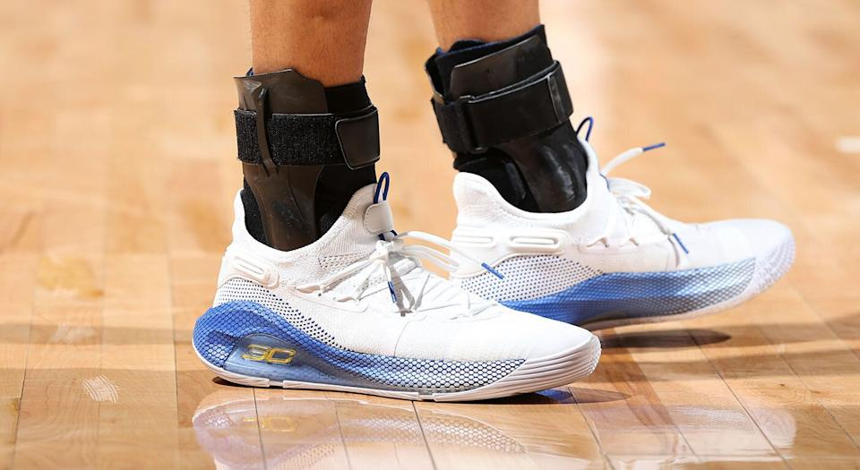 Under Armour shoes aren't the most popular among sneakerheads. (Photo by David Sherman/NBAE via Getty Images)