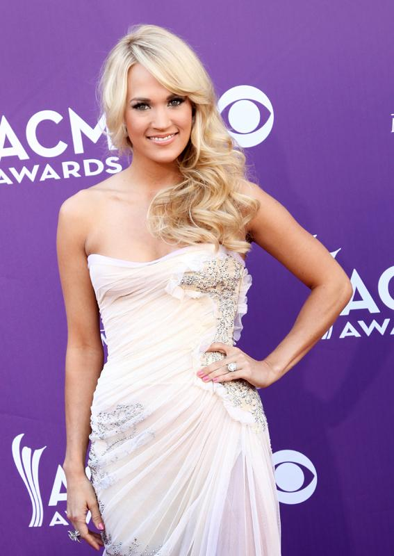 CARRIE UNDERWOOD, Live from the RAM Red Carpet, 47th Annual ACM Awards, Las Vegas, NV