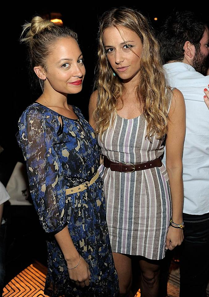 "Socialite and ""fashion designer"" Nicole Richie also made sure not to miss the soiree, and mingled a bit with pal Charlotte. Charley Gallay/<a href=""http://www.wireimage.com"" target=""new"">WireImage.com</a> - June 21, 2011"