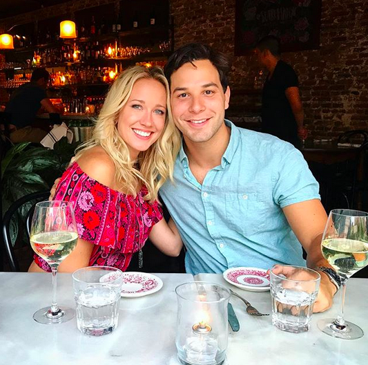 "<p>The <em>Pitch Perfect</em> stars are too cute, celebrating 11 months of wedded bliss. ""#Soulmate,"" the actor captioned this date night snap. Swoon! (Photo: <a href=""https://www.instagram.com/p/BXopZxbjwvZ/?taken-by=skylarastin"" rel=""nofollow noopener"" target=""_blank"" data-ylk=""slk:Skylar Astin via Instagram"" class=""link rapid-noclick-resp"">Skylar Astin via Instagram</a>) </p>"