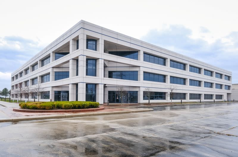 A general view of the GM Kokomo, Indiana building that General Motors and Ventec Life Systems are converting into use for the production of Ventec ventilators in response to the spread of the coronavirus disease