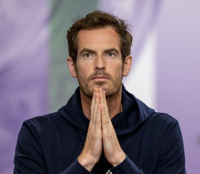 Andy Murray will play his first singles match at Wimbledon since 2017