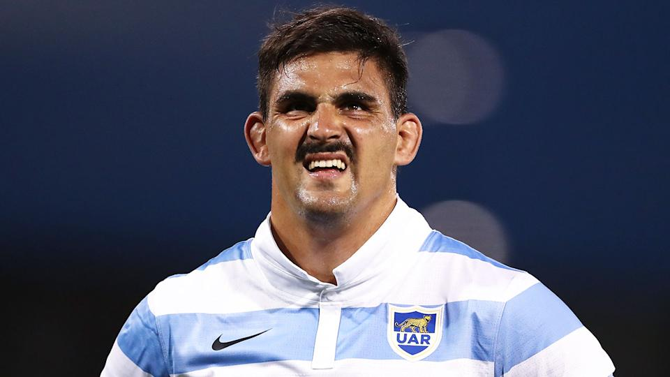Pictured here, Pablo Matera has lost his role as Argentina's rugby captain.