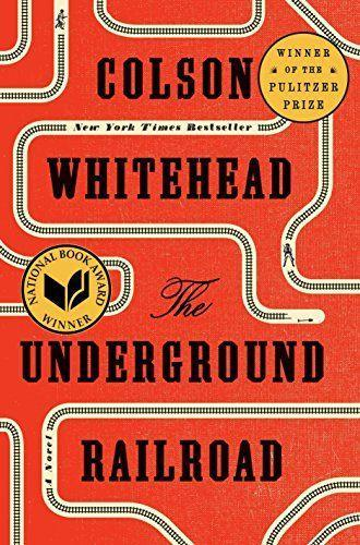 """<p><strong>Colson Whitehead</strong></p><p>amazon.com</p><p><strong>$15.91</strong></p><p><a href=""""https://www.amazon.com/dp/0385542364?tag=syn-yahoo-20&ascsubtag=%5Bartid%7C10055.g.35904358%5Bsrc%7Cyahoo-us"""" rel=""""nofollow noopener"""" target=""""_blank"""" data-ylk=""""slk:Shop Now"""" class=""""link rapid-noclick-resp"""">Shop Now</a></p><p>Winner of the Pulitzer Prize, National Book Award and all of our hearts, this gripping novel chronicles a young enslaved woman's struggle toward freedom. In Colson's telling, the underground railroad is no metaphor, but an actual railroad that Cora has to travel through space, time and the horrors of the antebellum South. </p>"""