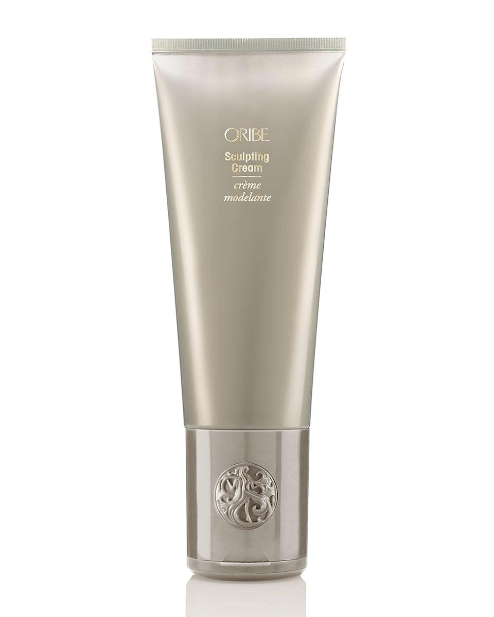 <p>This <span>Oribe Sculpting Cream</span> ($36) works for all different types of hair. Whether you're applying this to silky straight locks or luscious curls, it will help protect you from sun damage and humidity. </p>