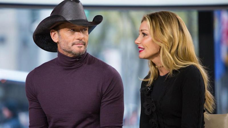 The lawsuit is over a song Ed Sheeran co-wrote for Tim McGraw and Faith Hill. The country couple are pictured here in November 2017. Source: Getty