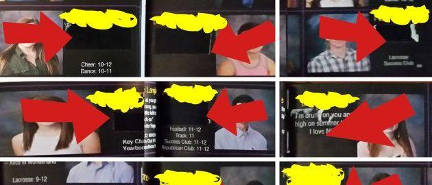 High School Uses DUCT TAPE In Last-Minute Bid To Censor Yearbooks