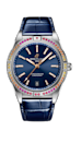 "<p><a class=""link rapid-noclick-resp"" href=""https://www.breitling.com/gb-en/watches/chronomat/chronomat-automatic-36/A10380611L1/"" rel=""nofollow noopener"" target=""_blank"" data-ylk=""slk:SHOP NOW"">SHOP NOW</a></p><p>Available with an oceanic blue, sunny yellow or mint green dial and strap, Breitling's latest Chronomat watch evokes the summery landscapes of the South Seas. </p><p>Its hour markers are picked out in white diamonds and the bezel is ringed in a dazzling array of rainbow-hued gemstones, which adds a dash of cocktail-hour glamour to this sporty-looking wristwatch. </p><p>Chronomat Automatic 36 South Sea watch, £6,550, <a href=""https://www.breitling.com/gb-en/watches/chronomat/chronomat-automatic-36/A10380611L1/"" rel=""nofollow noopener"" target=""_blank"" data-ylk=""slk:Breitling"" class=""link rapid-noclick-resp"">Breitling</a></p>"