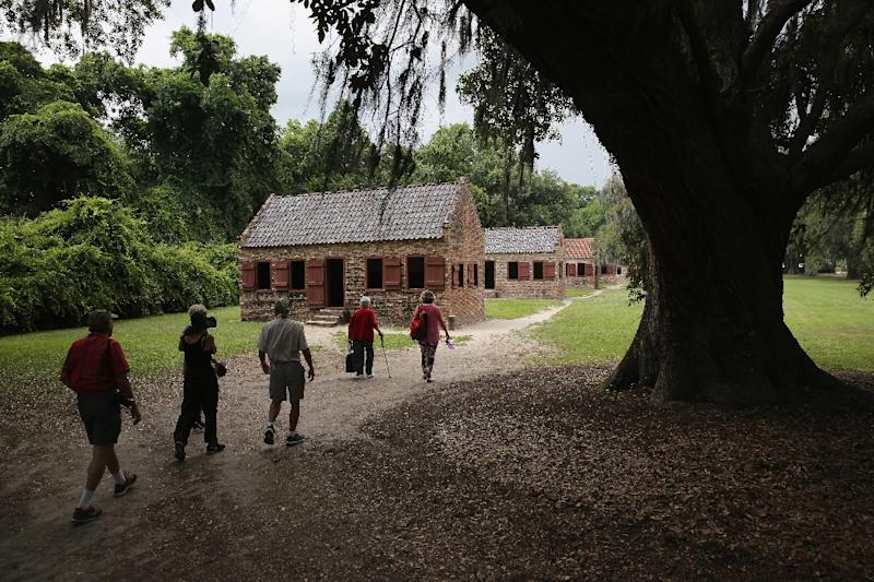 Historical sites near Charleston South Carolina such as Boone Hall Plantation seen in 2015 could face damage as Hurricane Florence approaches the US East Coast