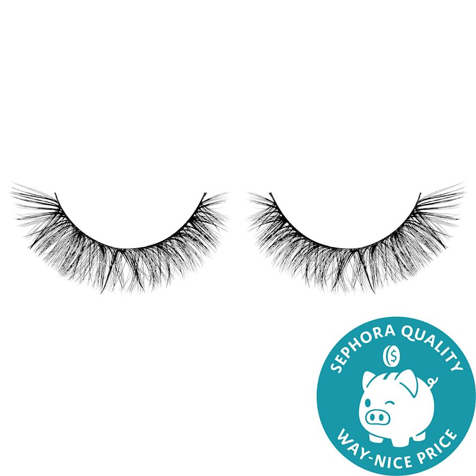 <p>Each <span>Sephora Collection Luxe Silk False Lash</span> ($20) is made from lightweight, synthetic hair fibers. They're meant to subtly increase fullness, volume, and length, and an anti-stick band means that you can wear them again and again without the adhesive getting dingy or losing its stick altogether.</p>