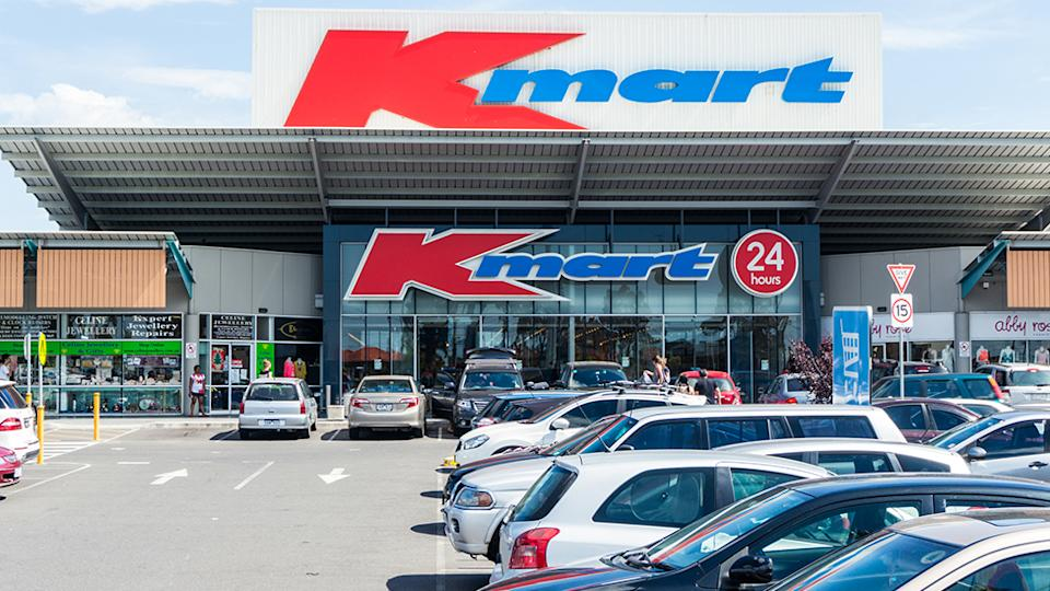 Kmart Australia store front. Photo: Getty Images.