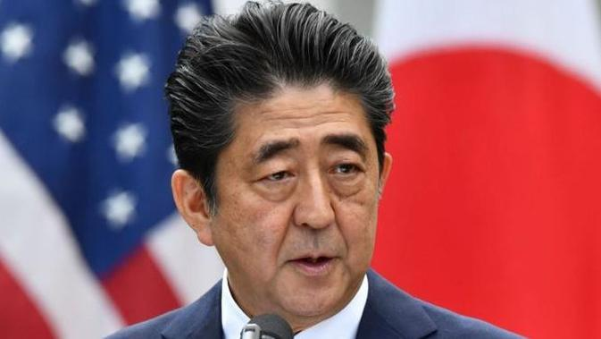 PM Jepang Shinzo Abe. (AFP PHOTO)