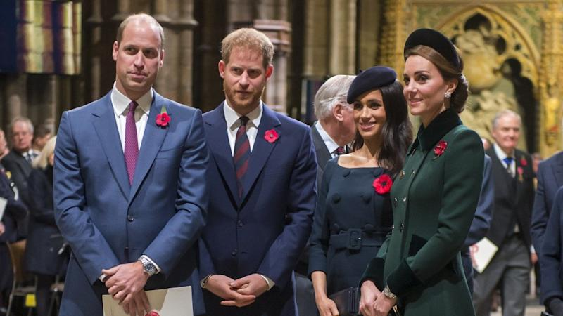 Meghan Markle and Prince Harry Go on a Double Date With Kate Middleton and Prince William