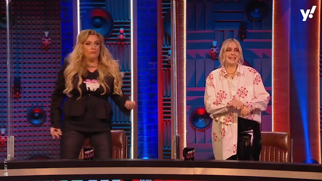 <p>Little Mix's Jade Thirwall, Anne Marie, and Nish Kumar all feature in this new look at Sky's Buzzcocks revival which shows the return of the classic Intros round.</p>