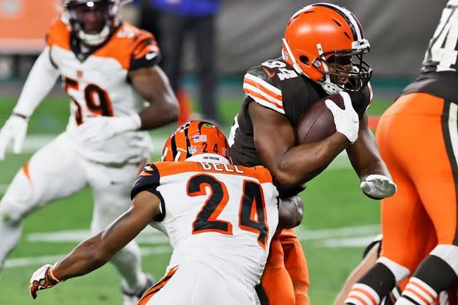 Mayfield, Browns' high-powered offence show early promise