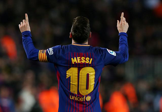 European courts ruled on Thursday that Lionel Messi is famous enough to trademark his name. (Getty Images)